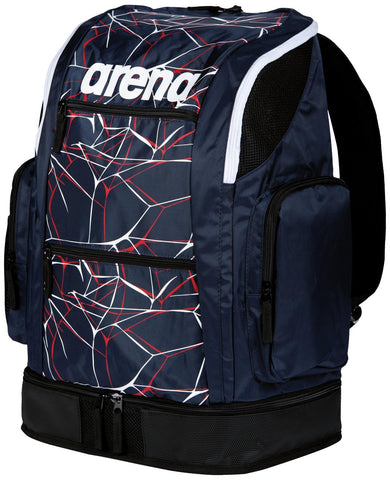 Arena Swim Bag Water Spiky 2 Large Backpack Navy 40L - Clickswim.com