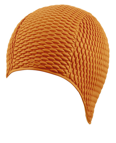 Beco Womens Latex Bubble Cap Orange - Clickswim.com