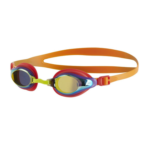 Speedo Junior Unisex Goggles Mariner Supreme Mirror Orange/Gold - Clickswim.com