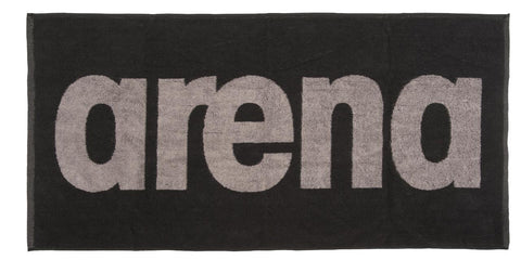 Arena Gym  Soft Towel Black Grey - Clickswim.com