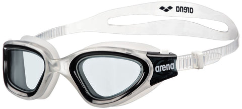 Arena Adult Training Goggles Envision Clear/Clear/Black - Clickswim.com