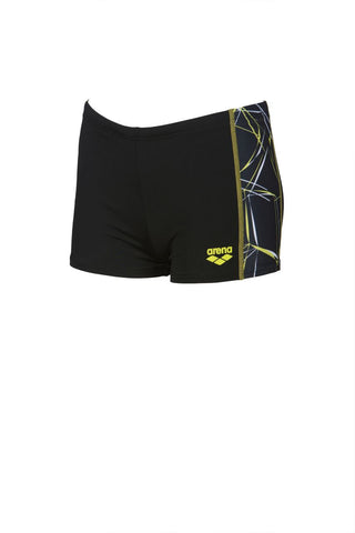 Arena Original Touch Boys Water Short Black/Black - Clickswim.com