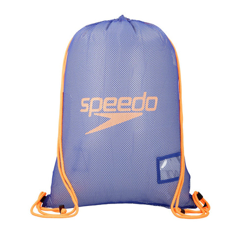 Speedo Mesh Bag Blue/Orange 35L - Clickswim.com