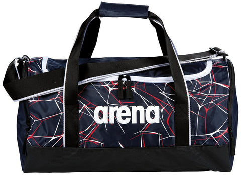Arena Swim Bag Water Spiky 2 Medium Navy - Clickswim.com