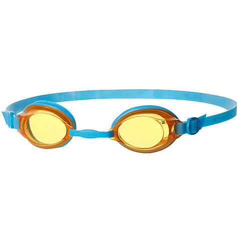 Speedo Jet Junior Goggle Blue / Orange - Clickswim.com
