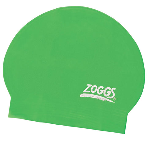 Zoggs Junior Latex Cap Green - Clickswim.com