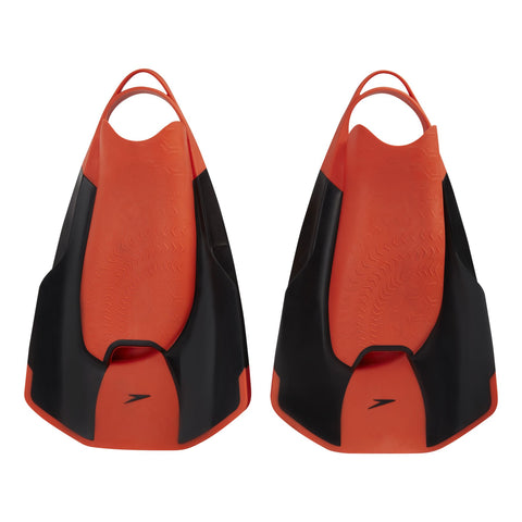 Speedo Unisex Equipment Fastskin Kick Fin Black / Red - Clickswim.com