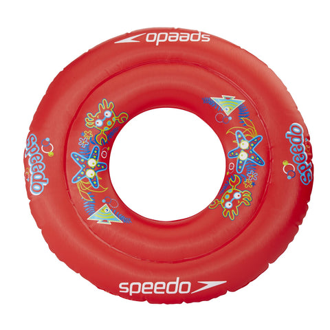 Speedo Infant Unisex Equipment Sea Squad Swim Ring Red - Clickswim.com
