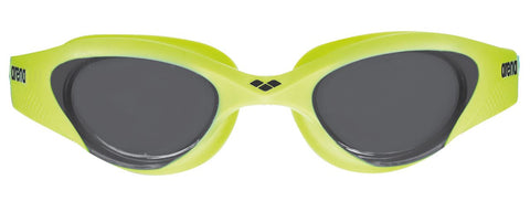 Arena Adult Training Goggles The One Smoke/Lime/Black - Clickswim.com