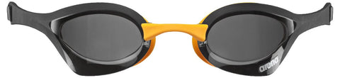 Arena Adult Racing Goggles Cobra Ultra Dark Smoke/Black/Orange - Clickswim.com