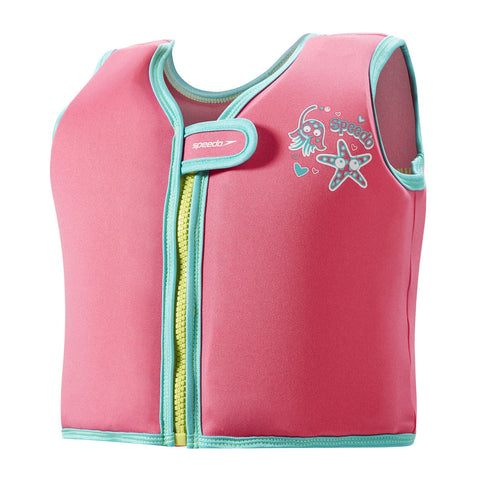 Sea Squad Infant Float Vest Vegas Pink - clickswim.com