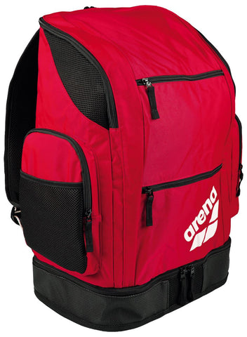 Arena Swim Bag Spiky 2 Large Backpack Red Team 40L - Clickswim.com