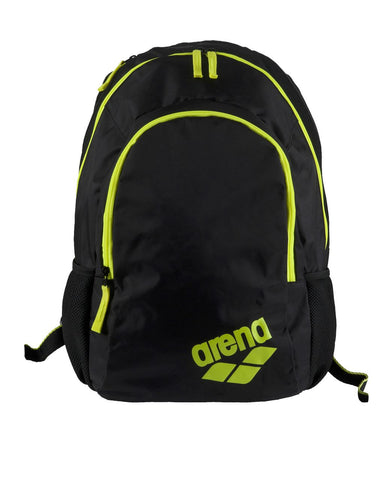 Arena Swim Bag Spiky 2 Backpack Fluo Yellow - Clickswim.com