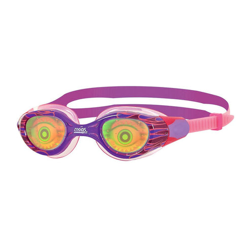 Zoggs Sea Demon Goggle Junior Girls Pink/Purple/Red - Clickswim.com