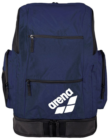 Arena Swim Bag Spiky 2 Large Backpack Navy Team - Clickswim.com