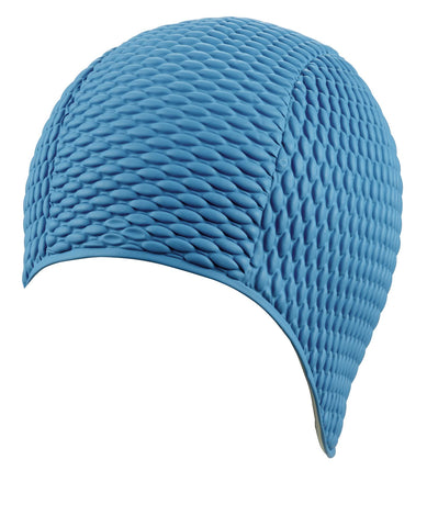 Beco Womens Latex Bubble Cap Turquoise - Clickswim.com