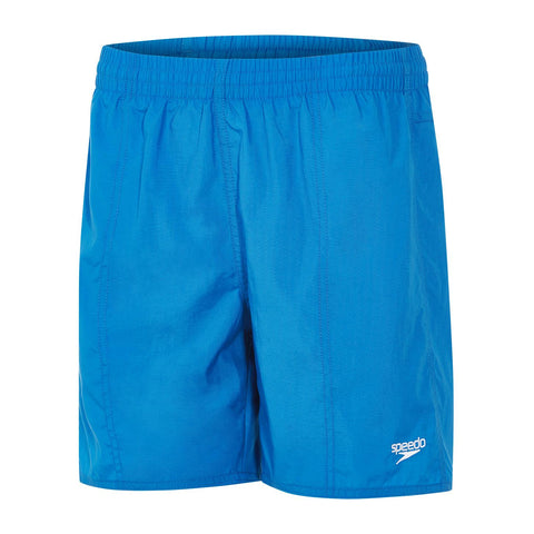 "Speedo Junior Boys Watershorts Solid Leisure 15"" Watershort Blue - Clickswim.com"