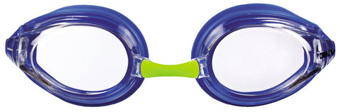 Arena Junior Racing Goggles Tracks Clear/Blue/Blue - Clickswim.com