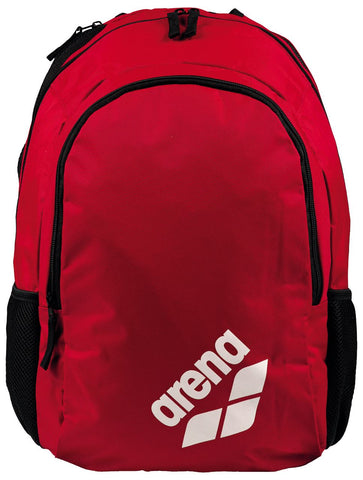 Arena Swim Bag Spiky 2 Backpack Red Team 30L - Clickswim.com