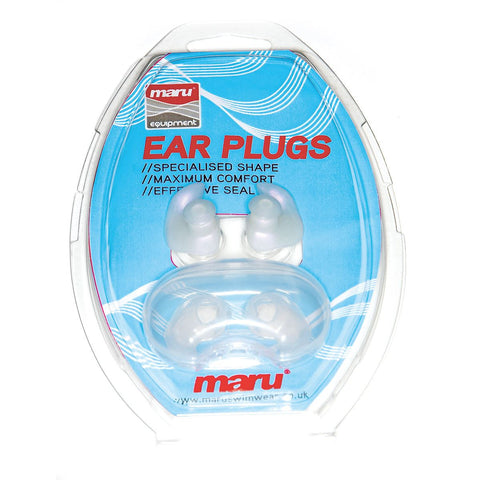 Maru Silicone Ear Plugs With Case - clickswim.com