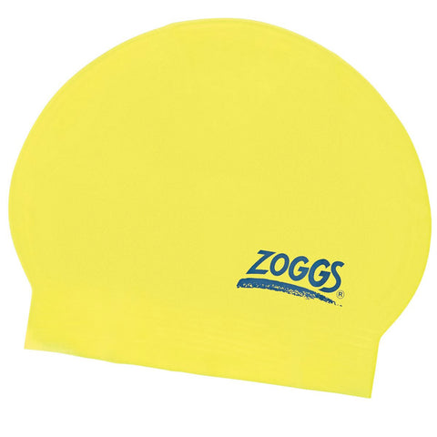 Zoggs Junior Latex Cap Yellow - Clickswim.com