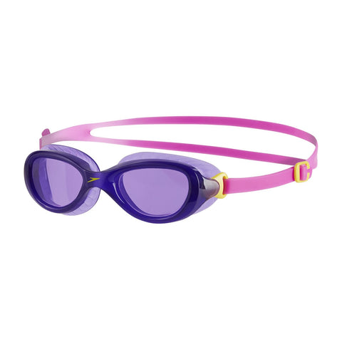 Speedo Junior Unisex Goggles Futura Classic Junior Purple/Pink - Clickswim.com