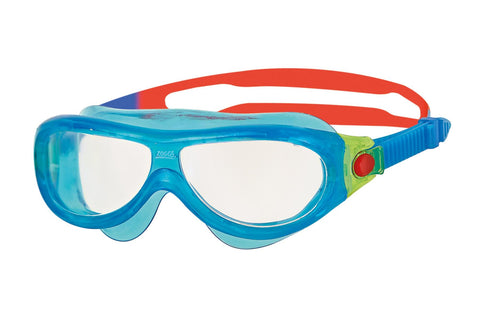 Zoggs Phantom Infant Mask Blue/Red - Clickswim.com