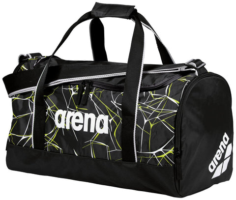 Arena Swim Bag Water Spiky 2 Medium Black 32L - Clickswim.com