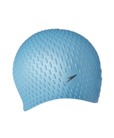 Speedo Womens Bubble Cap Light Adriatic - Clickswim.com