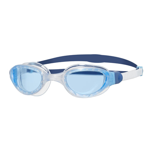 Phantom 2.0 Adult Goggles White/Blue/Tint - Clickswim.com