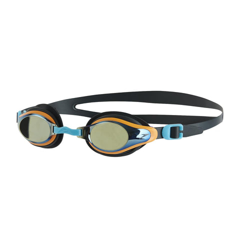 Speedo Junior Unisex Goggles Mariner Supreme Mirror Junior Grey/Silver - Clickswim.com