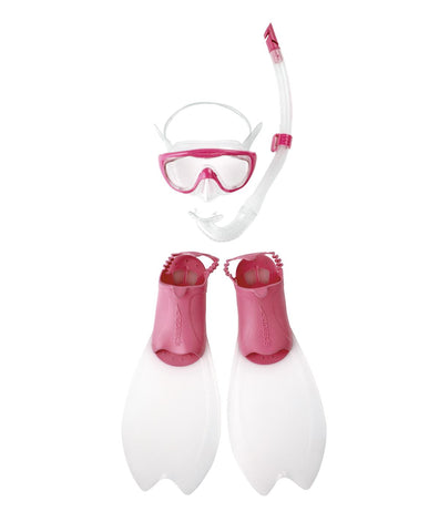 Speedo Junior Equipment Glide Scuba Set Pink - Clickswim.com