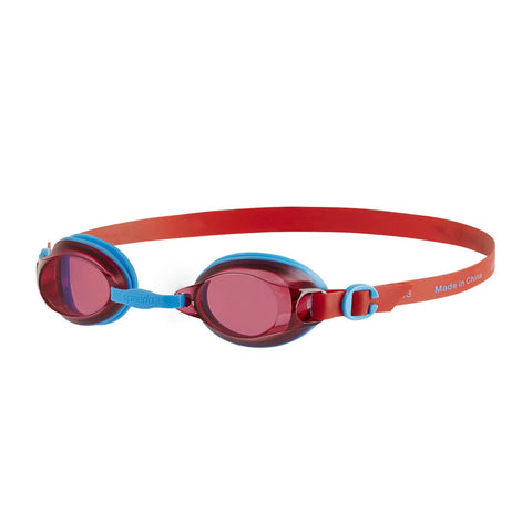 Speedo Jet Junior Assorted Goggles  Red/Blue - Clickswim.com