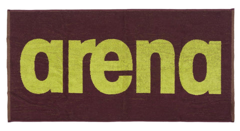 Arena Gym  Soft Towel Red Wine Shiny Green - Clickswim.com