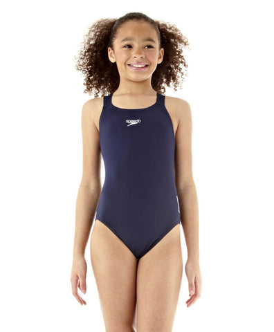Speedo Junior Essential Endurance+ Medalist Navy - Clickswim.com