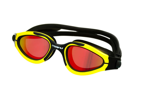 Maru Groove Polarized Mirror Yellow/Black - Clickswim.com