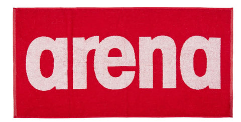 Arena Gym  Soft Towel Red White - Clickswim.com