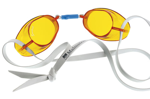 Beco Swedish Standard Adult Goggles  Yellow - clickswim.com