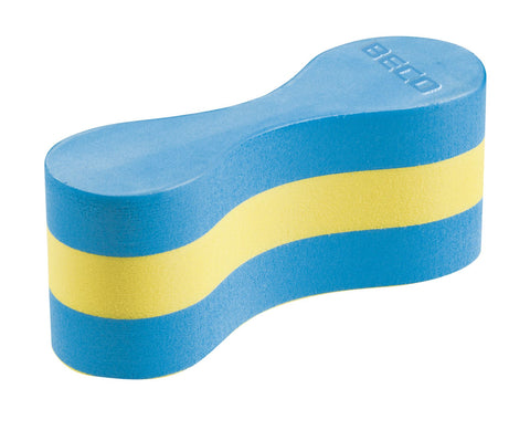 Beco Pullbuoy Junior Blue/Yellow - Clickswim.com