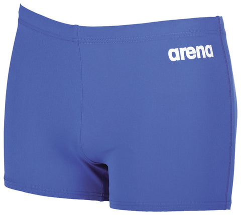 Arena True Sport Mens Solid Short Royal/White - Clickswim.com