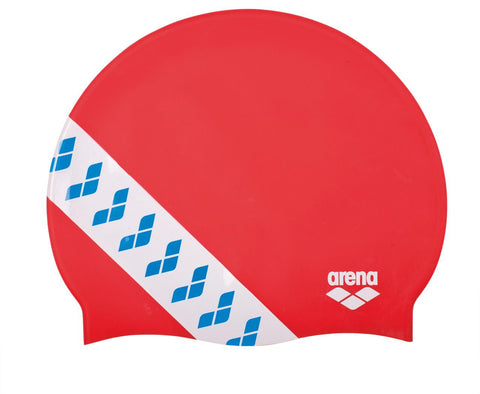 Arena Team  Stripe Cap Touch Cap Red - Clickswim.com