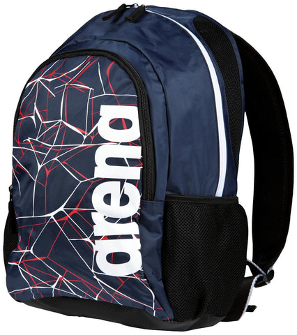 Arena Swim Bag Water Spiky 2 Backpack Navy - Clickswim.com