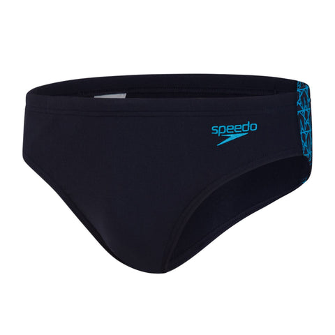 Speedo Boomstar Splice 7Cm Brief Mens True Navy/Pool