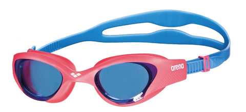 Arena Junior Training Goggles The One Light blue/Red/Blue - Clickswim.com