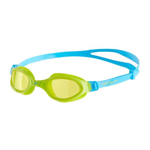 Speedo Futura Plus Goggle Green/Blue - Clickswim.com