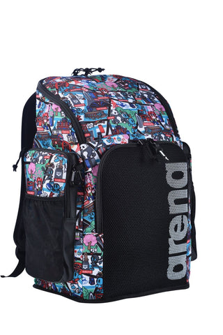 Arena Team Backpack 45 Allover Kun