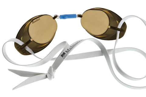Malmsten Swedish Anti-Fog Adult Goggles Smoke - Clickswim.com