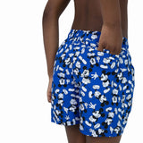 "Speedo Disney Mickey Mouse Allover 13"" Watershort Boys Beautiful Blue/Black/White"