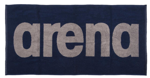 Arena Gym  Soft Towel Navy Grey - Clickswim.com
