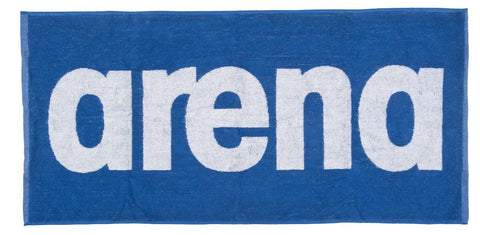 Arena Gym  Soft Towel Royal White - Clickswim.com